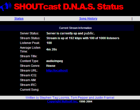Shoutcast Directory Tutorial