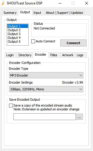 Stream with SHOUTcast DSP Tutorial - Primcast