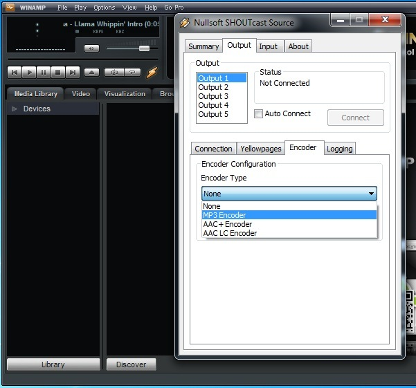 SHOUTcast DSP Plugin