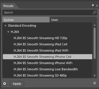 Smooth Streaming Server Tutorial